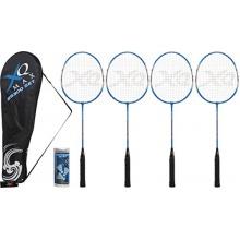 XQmax Badmintonset 4 Schläger Bild 1