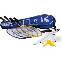 VICFUN Hobby Badminton Set Family GelbBlau One size Bild 1