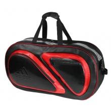 adidas Hüllen für Badmintonschläger Schwarz Rot Bild 1
