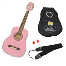 Ts-Ideen Akustik Konzert Kindergitarre in Rosa Bild 1