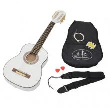 Ts- Ideen Akustik Konzert Kindergitarre in Weiß Bild 1