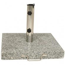 Schirmständer Granit 45 cm eckig 30 kg  Bild 1