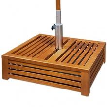 Schirmständer Holzabdeckung  Bild 1