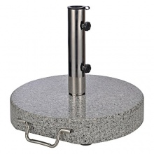Sonnenschirmständer Granit 45 cm rund 30 kg Bild 1