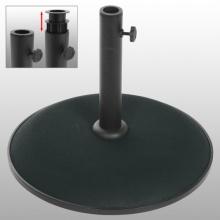 Beton Sonnenschirmständer Schirmständer Schwarz 15kg Bild 1