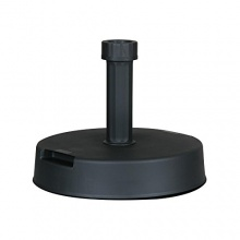 Schirmständer Kunststoff-Beton 20kg anthrazit Bild 1