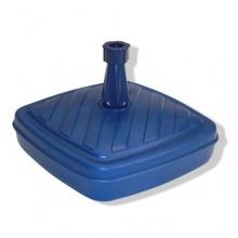 Schirmständer Kunststoff 14L blau Rohr Ø 18- 32 mm Bild 1
