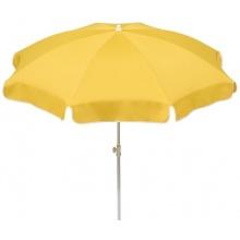 Schneider Sonnenschirm goldgelb rund Bild 1