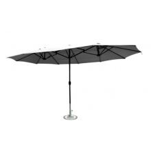 Leco Oval-Schirm 2.70 x 4.60 m anthrazit Bild 1