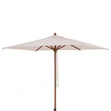 Sonnenschirm Schirm aus Holz  Bild 1
