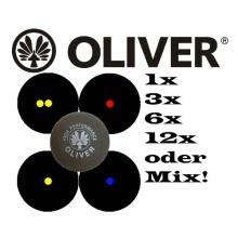 Oliver Squashball blau 1er  Bild 1