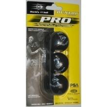 Dunlop Squashbälle 3er Pro Bild 1