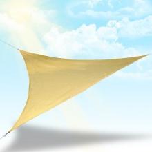 Sonnensegel Dreieck mit UV Schutz  reißfest 5x5x5m Bild 1