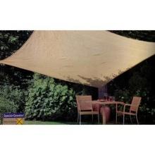 Sonnensegel UV-Schutz beige dreieckig 3,6x3,6x3,6m Bild 1