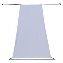 REER Sonnensegel mit UV-Schutz 50+ Wetterschutz grau Bild 1