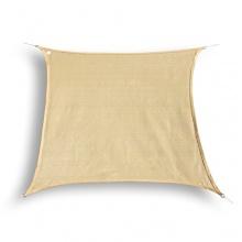 hanSe® Marken Sonnensegel Sonnenschutz Quadrat 4x4 m  Bild 1