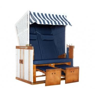 nordsee strandkorb borkum blau weiss test. Black Bedroom Furniture Sets. Home Design Ideas