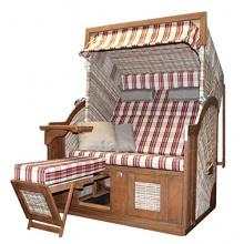 deVries Kampen Comfort PURE XL Strandkorb 2,5 Sitzer  Bild 1