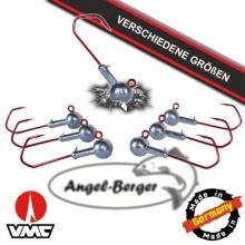 Angelshop Berger VMC Jighaken Bleikopf Wurfrute  Bild 1