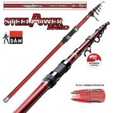 DAM STEELPOWER RED TELE SURF Wurfrute  Bild 1