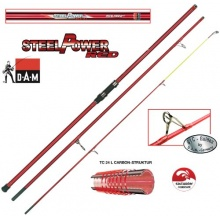 D.A.M  Steelpower Red Surf Steckr. 3,90 m,Wurfrute  Bild 1