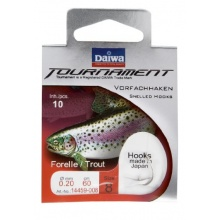 Angelhaken Forelle Daiwa Tournament 60 cm Gr. 4 Bild 1