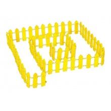 Deko-Zaun, gelb Bild 1