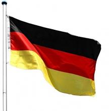 Aluminium Fahnenmast Flaggenmast 6,50 Meter, inkl. Deutschland Flagge Bild 1