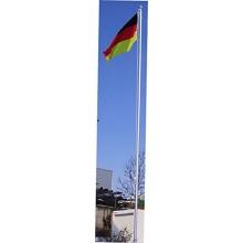 Aluminium Fahnenmast inkl. Deutschlandfahne (90 x 150 cm) Bild 1