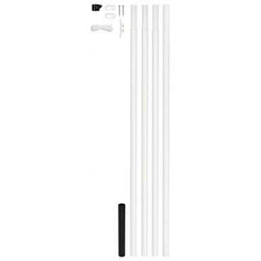 gah alberts 639709 fahnenmast form stahl roh test. Black Bedroom Furniture Sets. Home Design Ideas