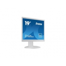 Iiyama 48,3 cm 19 Zoll >Business Monitor VGA DVI weiß Bild 1