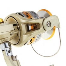 Lixada 6BB Angeln Spinning Reel SG7000A 5.1:1 Golden Bild 1
