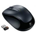 Logitech M325 optische PC Maus schnurlos dunkelsilber Bild 1