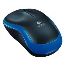 Logitech M185 PC Maus schnurlos blau Bild 1