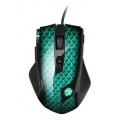 Sharkoon Drakonia Gaming Laser PC Maus 5000 dpi grün Bild 1