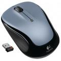 Logitech M325 optische PC Maus schnurlos hellsilber Bild 1