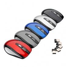 MECO Optische PC USB Maus Kabellos Funk 6 Tasten  Bild 1
