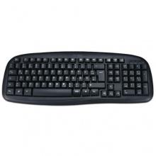 MS-Tech LT-277U PC Tastatur DE USB 2.0 schwarz Bild 1