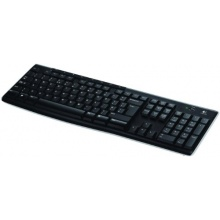 Logitech PC Tastatur schnurlos deutsches QWERTZ Bild 1