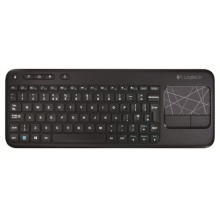 Logitech PC Tastatur QWERTZ deutsches schwarz Bild 1