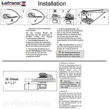 Lofrans X1 Ankerwinde Aluminium 500W Kette,wellenshop Bild 1