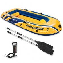 Intex Schlauchboot Challenger,295x137x43cm,4-teilig Bild 1