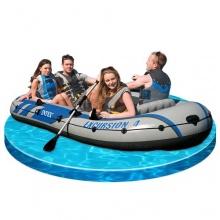 Intex Schlauchboot Excursion,315 x 165 x 43cm,4-teilig Bild 1
