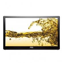 AOC 39,6 cm 15,6 Zoll Touchscreen Monitor USB schwarz Bild 1