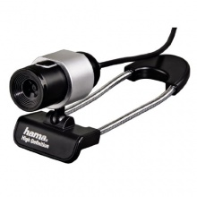 Hama Black Tube HD Webcam Bild 1