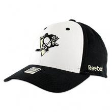 Reebok Pittsburgh Penguins White Front  NHL Cap L/XL Bild 1