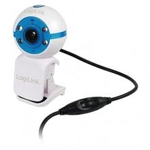 LogiLink Webcam USB LED Mikrofon USB 2.0 1.3 Megapixel Bild 1