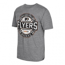 CCM Philadelphia Flyers Game Tested NHL T-Shirt Grau L Bild 1