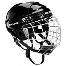 Bauer Combo Eishockey Helm - S M L - S, Weiß Bild 1