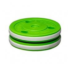 Green Biscuit PRO Eishockey-Puck von Best4Hockey Bild 1